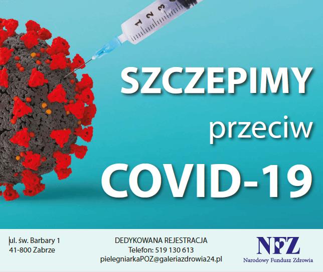 szczepienia COVID ZABRZE ŚLĄSK